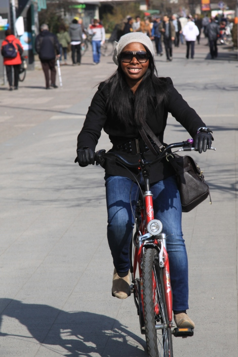 Hired a Bike in the City
