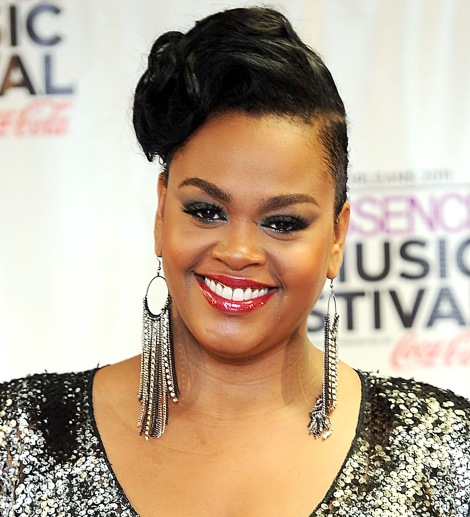 Jill Scott Sure Loves Her Dangly Earrings! Beautiful Smile as Always