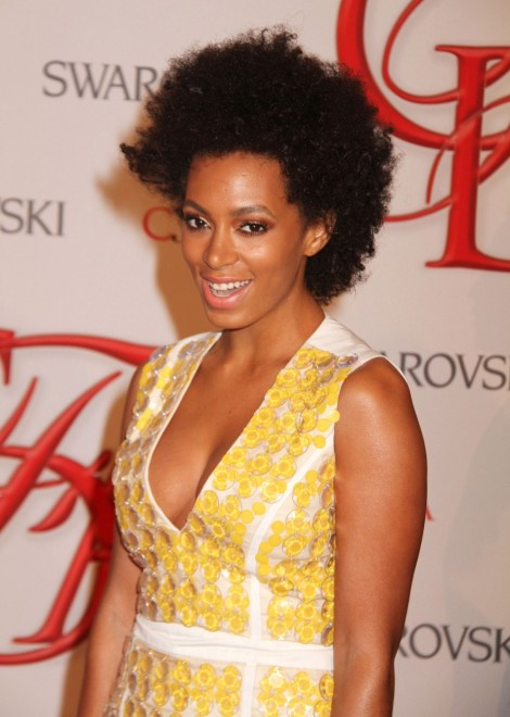 Solange Knowles in Yellow Always Rocks
