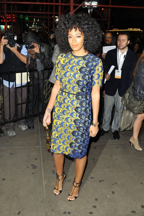 Solange Does Prints So Well