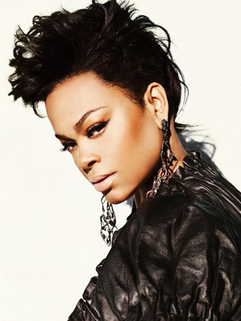 The 'New Jill Scott' with her Fierce Hair & Nude Lips