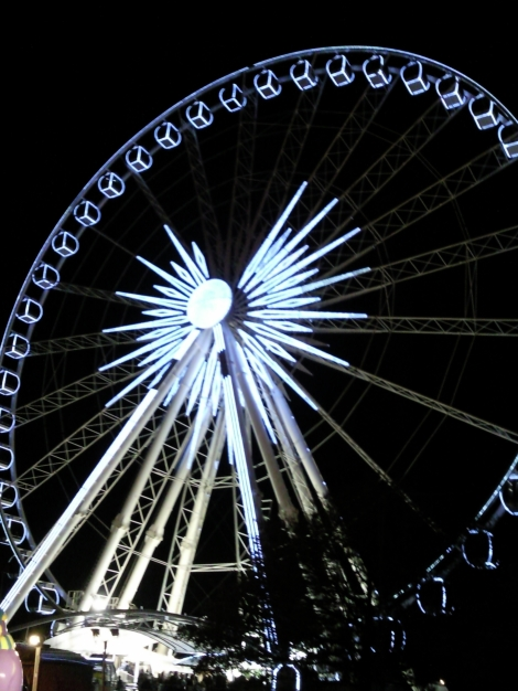 The Big Wheel at the Winter Wonderland Hyde Park