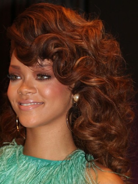 This Curly Hair Piece was a nice colour. It aged her. Not my favourite look, but she does show diversity!