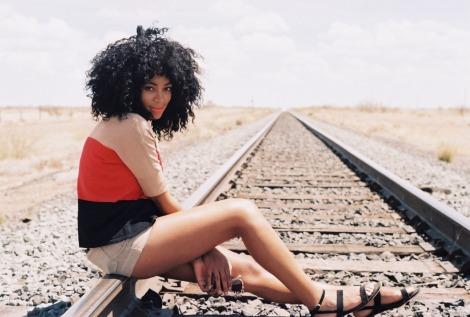 Solange the Model