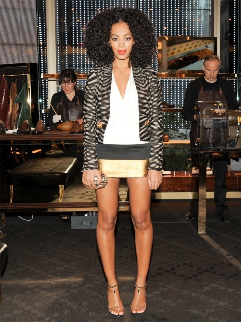 Solange Knowles has Legs for Days