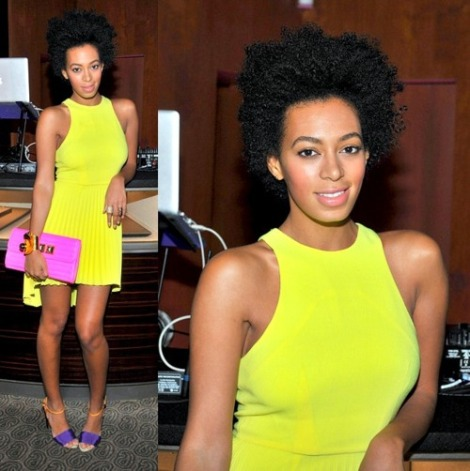 Solange works the Neon well as always!