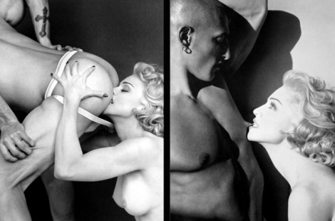 If you think Miley Cyrus or Rhianna are too much, then ask Madonna back in '92 (Erotica album)