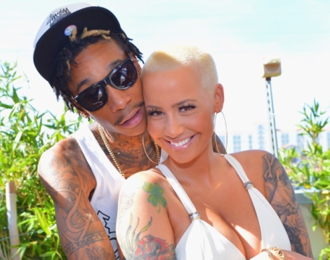 Wiz Khalifa and Amber Rose Wed in 2013