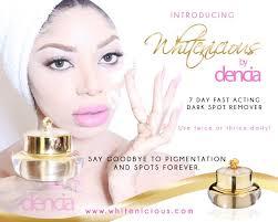Dencia's 'whitenicious' cream