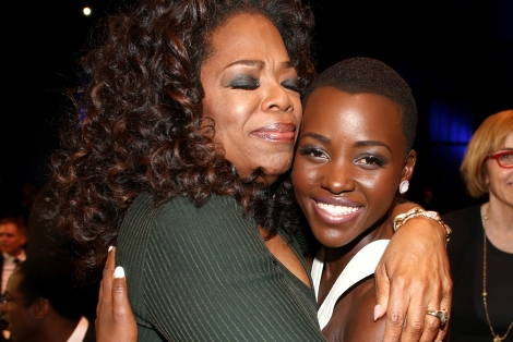 Oprah is one of Lupita's Inspirations